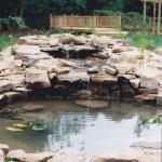 Garden Pond and Fountain
